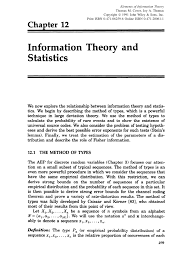 information theory and statistics a tutorial pdf download available