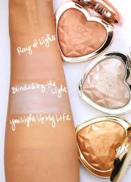 I Was Blinded By The Light The New Too Faced Love Light Prismatic Highlighters In Ray Of