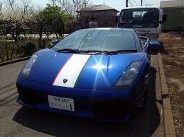 Lamborghini Gallardo Blue - lamborghini gallardo 2006 euro japan cars