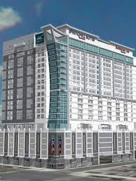 construction begins on marriott u0027s first ever triple brand hotel