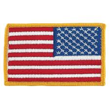 Country Flags Patches American Flag Patch Right Hand Version
