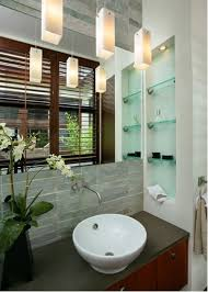 how to gain valuable space in tiny bathrooms