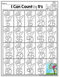 Count By 5 Worksheets Printable Free Free Ornament Math Sheet For Practicing Number Writing 1