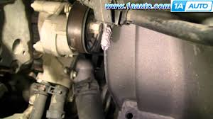 how to install replace engine fan clutch chevy gmc silverado