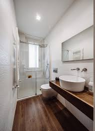 Modern Apartment Bathroom - lamarmora modern apartment in torino designed by italia and