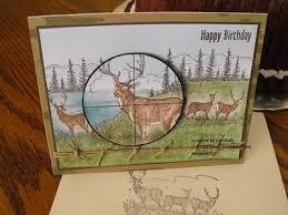 su noble deer stamp isn u0027t that sweet hunting card crafty