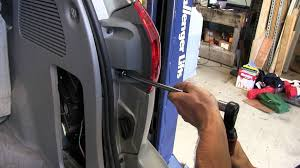 installation of a trailer wiring harness on a 2006 toyota sienna