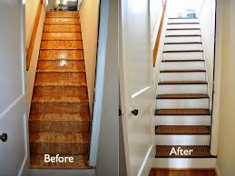 carpet mat on each tread risers white stairs stairs stairs
