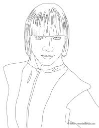mia german actress and singer coloring pages hellokids com