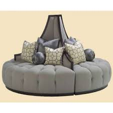 Marge Carson Bedroom Furniture by Carson Mirage Round Sofa