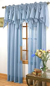 Blue And Yellow Kitchen Curtains by Splendor Batiste Rod Pocket Panel U2013 White Stylemaster View All