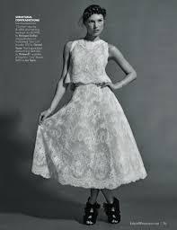 wedding dresses black u0026 white fashion editorial inside weddings