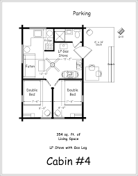 Floor Plan Of Two Bedroom House by 2 Bedroom Cabin Floor Plans