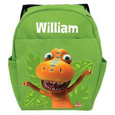 dinosaur train buddy the t rex green toddler backpack dinosaur