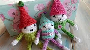christmas elf crochet tutorial youtube