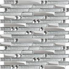 Best Crystal Glass Tiles Images On Pinterest Glass Mosaic - Sheet glass backsplash