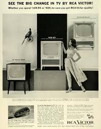 1955 ad rca victor radio corp america remote tv control television