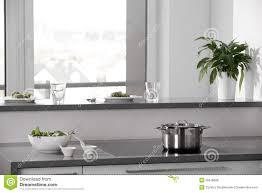 big modern kitchens black and white modern kitchen with stylish furniture royalty free