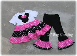 custom boutique minnie mouse dress sets u2013 lil bug clothing