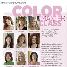 master class color traditional home