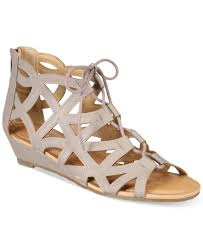 esprit cacey lace up wedge sandals products