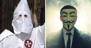 Klux Klan Halloween Costume Hackers Plan Reveal Identities Thousands Kkk Members