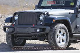 diesel jeep truck 2018 wrangler spied hints at upcoming jeep pickup