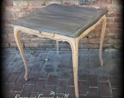 queen anne end tables etsy your place to buy and sell all things handmade