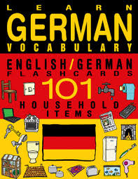 learn german vocabulary german flashcards 101 household