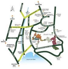antipolo map filinvest residential amarilyo crest house lot for sale