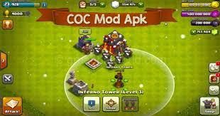mod apk android clash of clans mod apk offline for android coc hack free