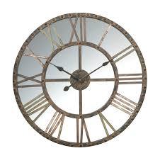mirrored wall clocks large clocks pinterest mirror wall