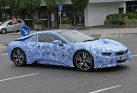 Bmw I8 Custom - bmw i8 sports production wheels for first time and drops some camo