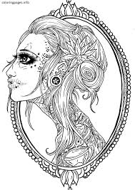 sugar skull coloring pages pdf free coloring pages