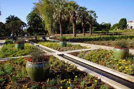 Huntington Botanical Garden by New Huntington Entrance Garden
