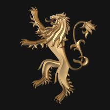 house lannister 3d game of thrones house lannister cgtrader