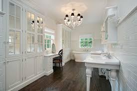 Dark Vanity Bathroom 32 Beautiful Bathrooms With Dark Floors White Tile With Dark Wood