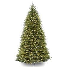 pre lit dunhill fir artificial tree clear lights 10 foot