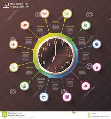 time design planner modern work time management planning infographics luxury design