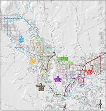 Las Vegas Transit Map by St George