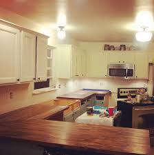 how to install butcher block countertops a brutally honest review of ikea butcher block countertops our