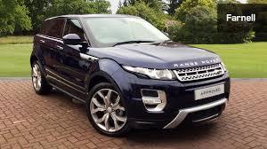 range rover evoque blue used land rover range rover evoque 2 2 sd4 autobiography 5dr auto