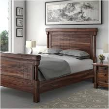 Transitional Style Bedrooms by Transitional Style Solid Wood Bed