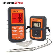 thermometre cuisine pas cher thermopro tp 08 100 m à distance sans fil alimentaire cuisine