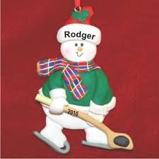24 best hockey ornaments images on personalized