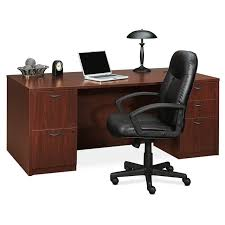 Hon Adjustable Height Desk by Basyx By Hon High Back Leather Executive Chair Atwork Office