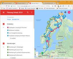 Googe Maps Hobby 600 Ein Wohnmobil Ist Kult Tourenplanung Mit Google Maps