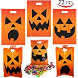 amazon com drawstring halloween goody bags package of 72 toys