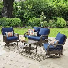 Patio Furniture Cushions At Walmart - patio furniture u2013 walmart with regard to walmart patio furniture