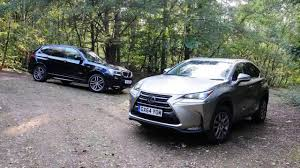 lexus nx300h vs toyota rav4 2017 review model lexus nx vs bmw x3 youtube